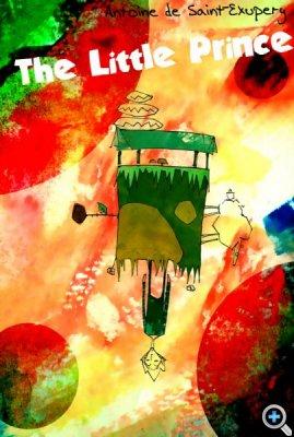 Афиша к спектаклю по мотивам произведения Антуана-де-Сент Экзюпери «Маленький принц»