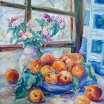 """""""Персиковое утро"""", Яунзем С.А."""