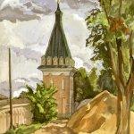 """""""Библиотечная башня"""", Анисимова С.В."""