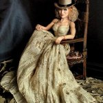 """Луиза Вероника Чеконе (Мадонна). Авторская кукла"", Курило Ю.Н."