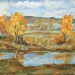 """""""Осень"""", Яунзем С.А."""