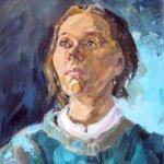 """""""Портрет женщины"""", Яунзем С.А."""