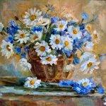 """""""Полевые цветы"""", Яунзем С.А."""