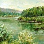 """""""На реке Кан"""", Микрюкова А.В."""